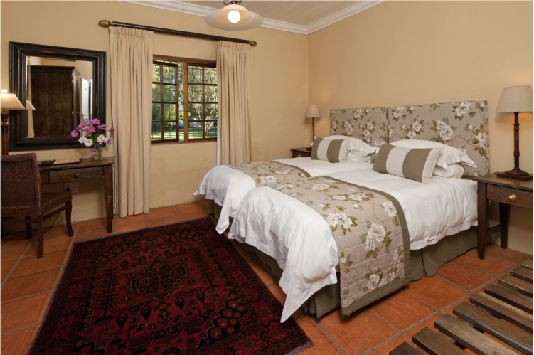 Dedoornkraal Vineyard Cottage Bedroom