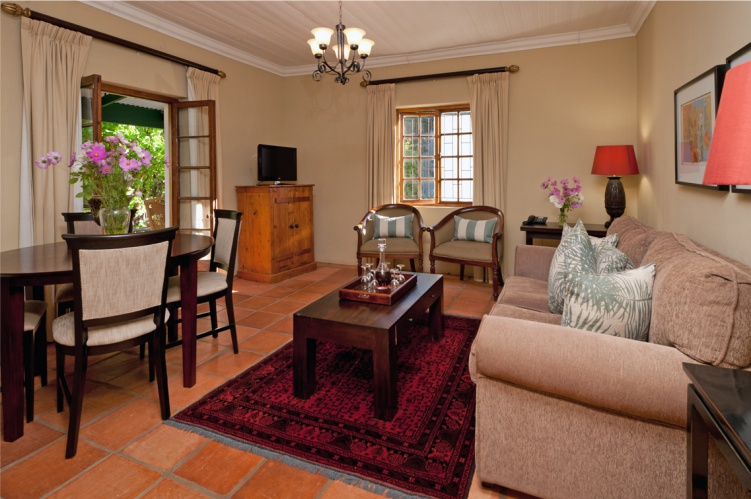 Dedoornkraal Vineyard Cottage Lounge
