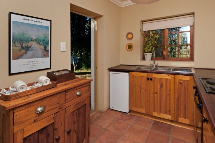 Dedoornkraal Vineyard Cottage Kitchen