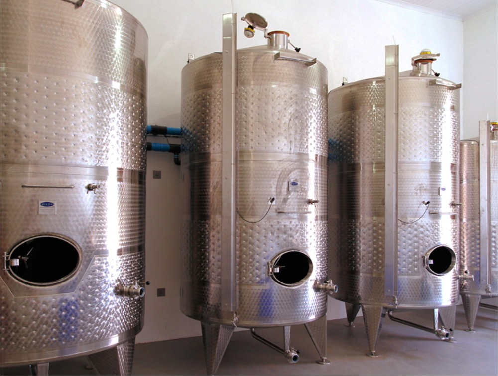 State of the art wine-producing technology